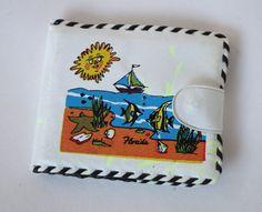 Vintage Kids' Florida Souvenir Vinyl Wallet Whip by retrowarehouse