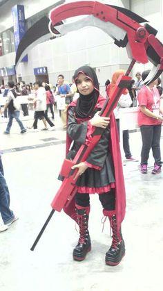 Hijab@lolita // THAT SCYTHE THO