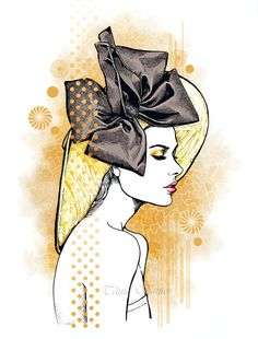Lauren Calaway illustration by Tania-S.deviantart.com on @deviantART