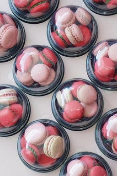 These transparent small dome cases are wonderful for displaying delicate party food such as macarons, cupcakes, whoopie pies or cookies. It's such a pretty package that you can decorate with a sticker, ribbon, or a name tag. See more party ideas and share yours at CatchMyParty.com #catchmyparty #partyideas #socialdistancing #socialdistancingparty #socialdistancingpartyfoodideas