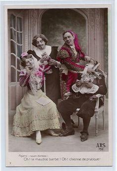 Rosina, Conte di Almaviva/ Don Alonso, Figaro, Bartolo