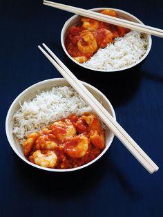 Chana Masala, Food Porn, Ethnic Recipes, Creole Cuisine, Cooking Food, Curry Shrimp, Treats