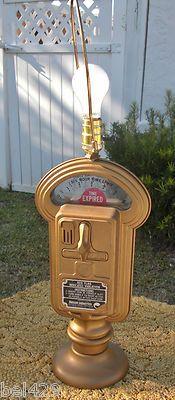 #Mid century Duncan parking meter lamp  $189.95