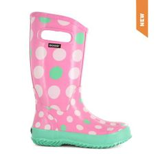 Kids Rainboot Dots - 71501 - Bogs Footwear - The Official Website