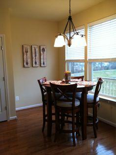 Home Decor Wall Art Chalkboard Kitchen Fork And Spoon Wine Glass Print