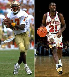 Charlie Ward 1993 Heisman Trophy winner and National Championship for FSU
