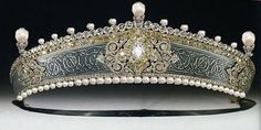 Romanov Pearl Tiara; Worn At: 2014 Oldenburg Day Banquet --- 2015 Oldenburg Coronation Command Performance