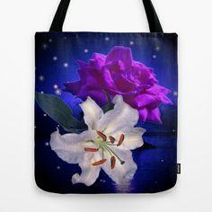 Magic Flowers  Tote Bag by Elena Indolfi - $22.00