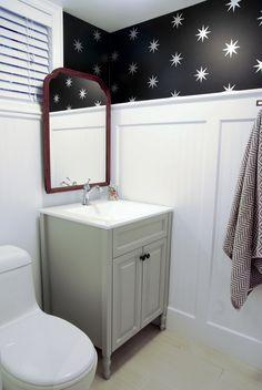 Rambling Renovators: Before & After: Modern Vintage Bathroom