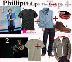 Phillip Phillips #AmericanIdol Top 4 fashion