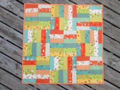 That's Sew Julie: Jelly Roll Jam pattern from Fat Quarter Shop