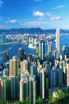 Hong-Kong-City-Harbour-  #China-- BEEN HERE OH MY GOSH I FEEL SO COOL (ps- im living here when i get old and wise)