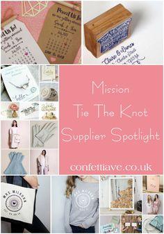 Mission Tie The Knot | Supplier Spotlight http://confettiave.co.uk/mission-tie-the-knot