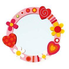 Espejos para Cuartos Infantiles - Para Más Información Ingresa en: http://disenodehabitaciones.com/espejos-para-cuartos-infantiles/