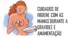 Resultado de imagem para amamentação cuidados com a mama