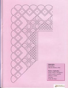 Labores de Bolillos 08 Bobbin Lace Patterns, Lacemaking, Parchment Craft, Crochet Trim, Hobbies And Crafts, Yarn Crafts, Tatting, Needlework, Album