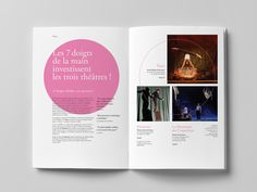 Olivier Rensonnet – Les Théâtres, visual identity serving three theatres in two cities