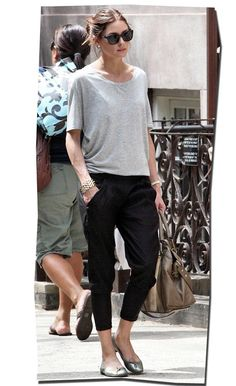 Olivia Palermo, Harem pants -- i could live in this outfit