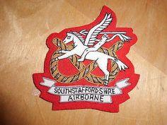 South staffordshire Regiment Airborne Blazer patch £6