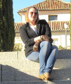 Casual Look. Look BLAZER & JEANS. LOS LOOKS DE MI ARMARIO. #loslooksdemiarmario #winter #primark #violetabymango #outfitcurvy #invierno #look #lookcasual #lookschic #tallagrande #curvy #plussize #curve #fashion #blogger #madrid #bloggercurvy #personalshopper #curvygirl #primark #lookinvierno #lady #chic #looklady #blazer #black #jeans #lookconjeans #look #outfit #lookrojoynegro #primark #navidades #christmas #cristmaslook