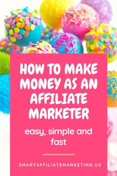 How to make money as an Affiliate Marketer easy, simple and fast. Let me show you how to create an online business with AFFILIATE MARKETING now !!!! Make Money Blogging, Make Money Online, Ways To Earn Money, Make Money From Home, How To Make Money, Money Tips, Marketing Guru, Email Marketing, Affiliate Marketing