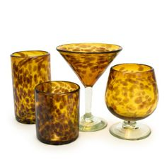 Amber Recycled Glassware Collection  reg. $8.00 - $9.00