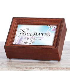 Soulmates Music Box by Roman Roman, Bridal Shower, Box, Frame, Music, Cards, Gifts, Wedding, Decor