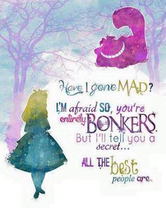 Alice in Wonderland Disney Quotes Photos. Posters, Prints and Wallpapers Alice in Wonderland Disney Quotes Disney Pixar, Art Disney, Disney Kunst, Disney Films, Disney And Dreamworks, Disney Love, Disney Magic, Disney Characters, Funny Disney