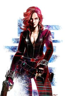 black widow by ~Michiamoluca on deviantART