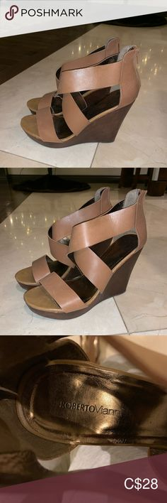 I just added this listing on Poshmark: Roberto Vianni wedges. Plus Fashion, Fashion Tips, Fashion Trends, Womens Shoes Wedges, Wedge Shoes, Brown, Shopping, Things To Sell, Style