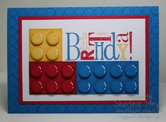 MagpieCreates: LEGO inspired - stampin up