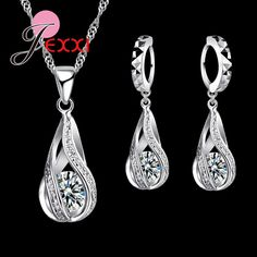 Jewelry Sets Back To Search Resultsjewelry & Accessories Exquisite Multi Color Cubic Zirconia Flower Necklace Crystal Drop Piercing Earrings 925 Sterling Sivler Jewelry Sets El Collar Attractive Fashion