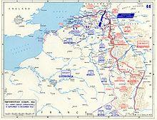 Noordwest Europa: situatie van de geallieerde legers van 15 september - 15 december 1944