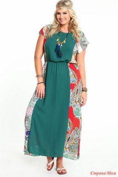 01a7258cdae96 Образы Plus Size- Часть 2 - Страна Мам Fashion Identity, Curvy Dress, Curvy