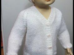 Star Stitch Raglan Baby Jacket by Stitch Niche - YouTube