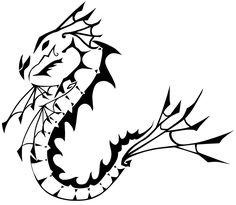 Dragon Tattoo Designs - The Body is a Canvas Celtic Dragon Tattoos, Dragon Tattoos For Men, Dragon Tattoo Designs, Tattoos For Guys, Cool Tattoos, Awesome Tattoos, Tatoos, Rainbow Serpent, Dragon Boat