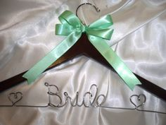 Personalized Bridal hanger wedding dress by HangingMemories4ever