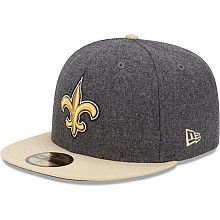 Men s New Era New Orleans Saints Melton Basic 59FIFTY® Structured Fitted  Hat - NFLShop. 41f00dd4517