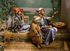 Bedouin beggars and children, Tunis, Tunisia, ca. 1899