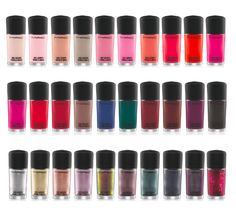 MAC's New Permanent Nail Lacquer Collection