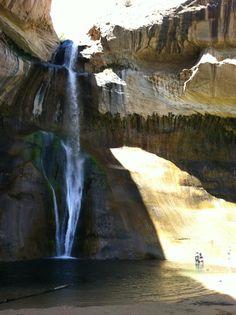 Calf Creek Falls, UT.