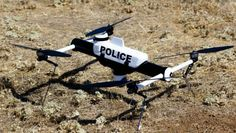 Meet the Qube drone, specially designed for police departments. Photo courtesy of AeroVironment, Inc.