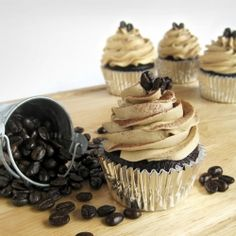 Kahlua Coffee Cupcakes