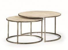 Coffee Tables : 054961 : Quasar Cocktail Nesting Table : Decorium Furniture Store Toronto