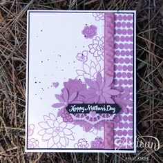 Holly's Hobbies: Oh So Succulent Note Cards - Stampin' Up! Artisan Blog Hop