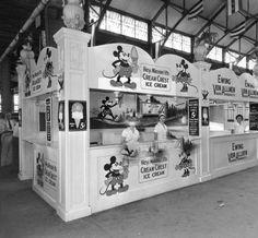 Ice cream booth at Kentucky State Fair, Louisville, Kentucky, 1933