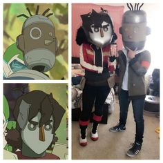 Image result for keith and lance cosplay