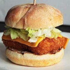 the BiG BiTE ~ BiG FiSH Burger