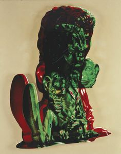 Paul McCarthy, Michael Jackson Green and Red