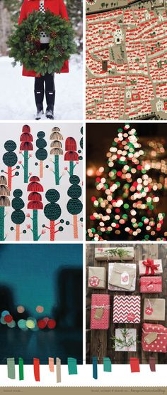 love print studio blog: A Christmas colour crush...